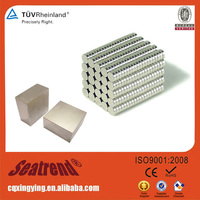 2016 New Promotion Gold supplier promotion super industrial neodymium strong flat magnets