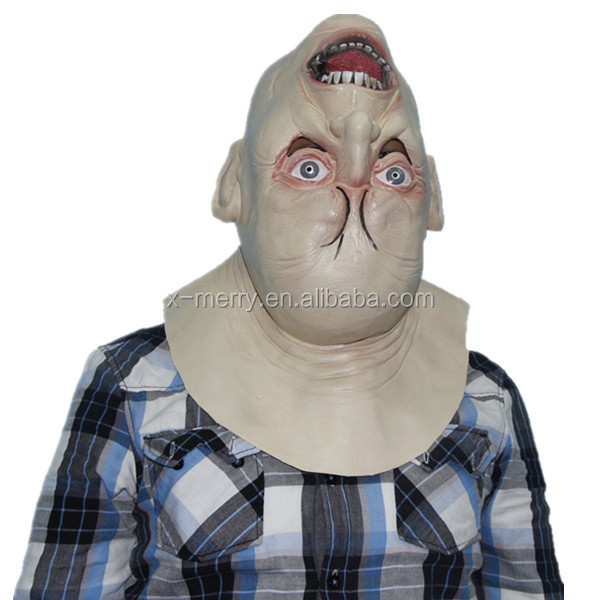 X-MERRY China Halloween Wholesaler Ugly Halloween Latex Mask Used Natural Latex Mask Material