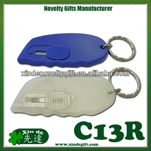 Retractable Mini Schneider - Retractable safety mini cutter, Mini cutter key chain key holder -with stainless steel blade