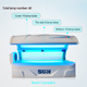 Sunshine led light therapy beds and PDT Machine beauty machinery W6 solarium