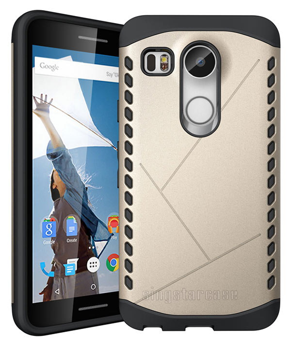 New Product Shield Armor Case For LG Nexus 5 2015, For LG Nexus 5X 2015 Hybrid Case