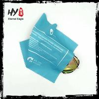Multifunctional printed lens cloth, cheap custom logo printed microfiber cleaning lens cloth, car drying cloth
