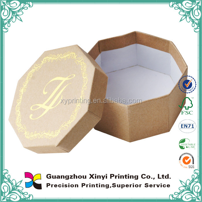 OEM high quality custom round cardboard gift boxes with lid waxed cardboard boxes for packing