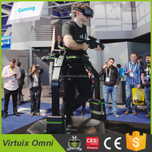 Virtuix omniVR treadmill,9d virtual reality egg