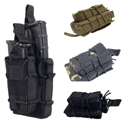 Outdoor Military Army Double Decker Mag Ammo Pouch