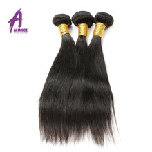 Factory Price Cheap 8-30 Inch Long Straight Hair Weft 8A Raw Remy India Hair