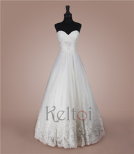floor length beijing boob tube top design wedding dress