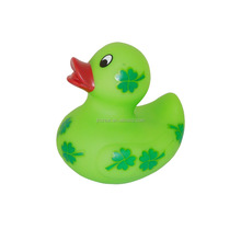 Colorful duck making machine plastic custom made bath vinyl toy