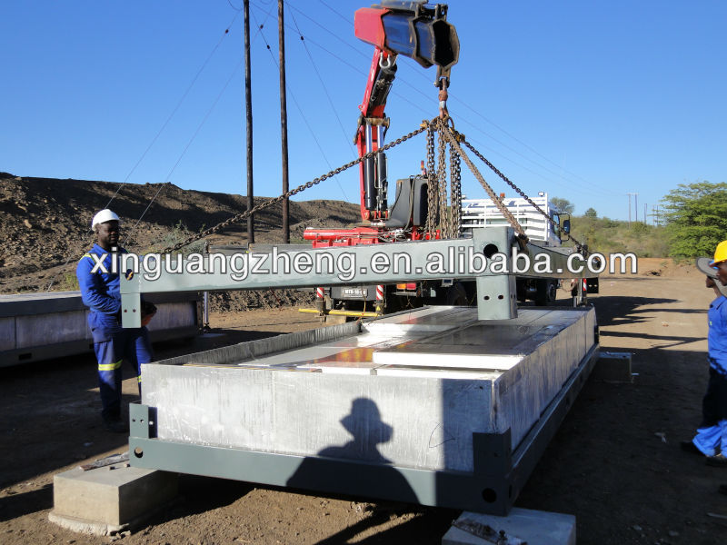 steel structure lightweight building material