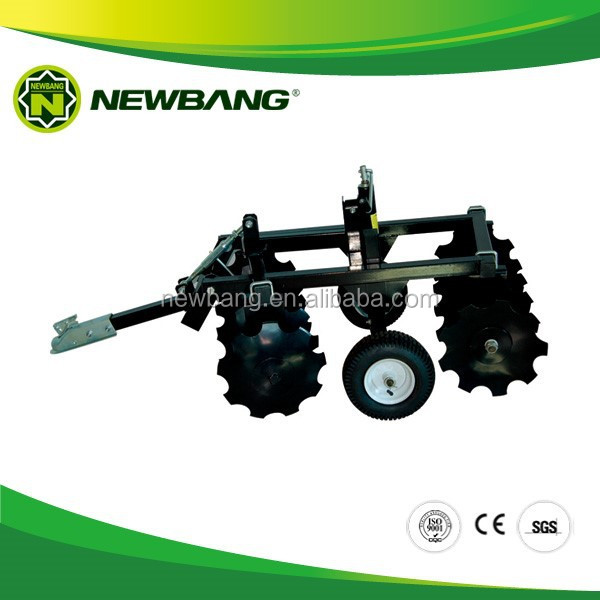 agricultural machinery atv disc harrow