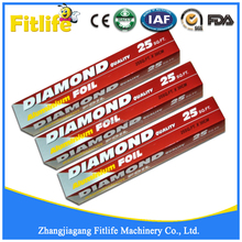 Diamond Household Aluminum Foil In Color Box Used In Cooking and Wrapping
