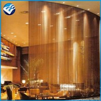 Best price chain link drapery wire mesh curtains