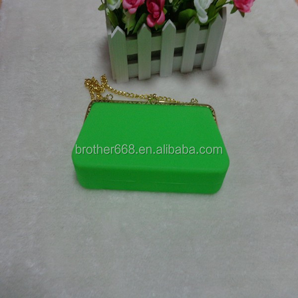 Hot selling Silicone Jelly Handbag With Zipper/Women Should bag/Lady Bag