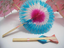 disposable wood party decorative food picks