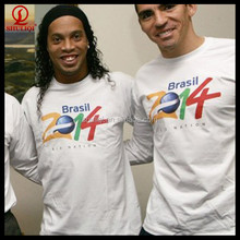 New Fashion Latest Design New Model custom t-shirt for world cup brazil 2014