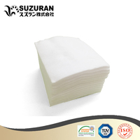 Suzuran square cotton pads 6cmx7cm 180gsm salon products