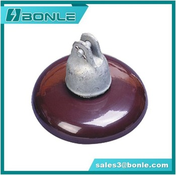 Hot Sale ANSI 52-6 Socket Porcelain Insulator