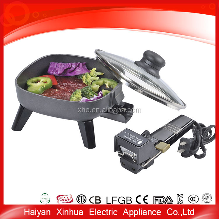 New production electric new model professional metal industrial frying pan