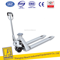 2ton heavy duty hydraulic hand pallet truck scale/stainless steel scale truck price