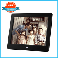 "Customize 7"" 8"" 10"" 12"" 15.6"" 18.5"" 21.5"" inch digital photo frame advertising promotion 8 Inch Gift Digital Photo Frame"