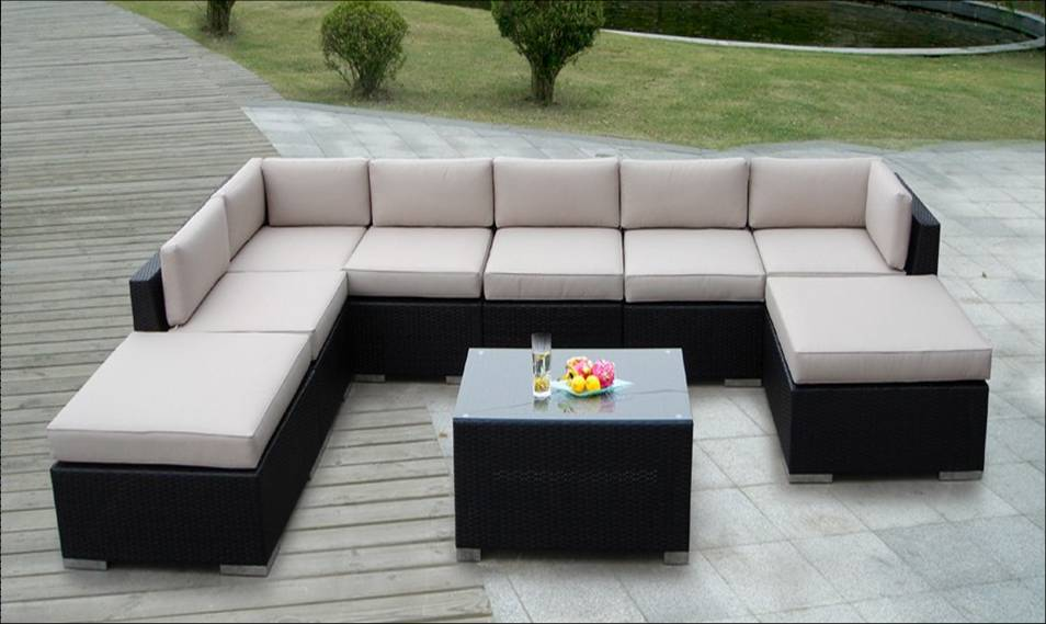 poly rattan furniture FS-3041
