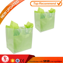 Promotional poster plastic bags for books tote bags with custom printed logo