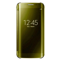 Clear View Electroplate PC Flip Mirror Case Smart Case For Samsung Galaxy S6/ S6 Edge