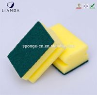 Cleaning lap pad sponge, manual floor scrubber, rubber gloves scrubber