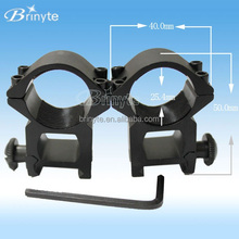 Brinyte X018 hunting torch accessories 25mm double gun mount