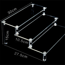 wholesale recycle showcase designs plastic acrylic display stand for cosmetic