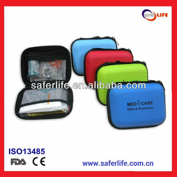2017 camping travel outdoor emergency automobile EVA first aid bag first aid kit eva material first aid coach kit