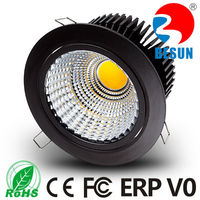 High lumen 180 adjustable traic dimming 30w cob led downlight