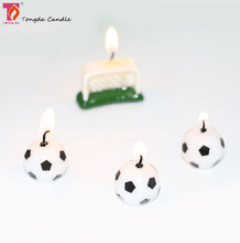 Wax sports ball Shaped Candles
