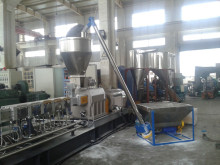 TSE-75D recycled PE filled with Talc /CaCO3 pellet making machine