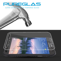 Pureglas factory produce 9H hardness&99% transparency screen lcd guard protector for Samsung galaxy S6 active