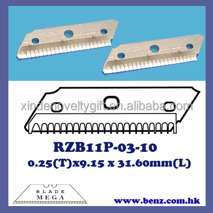 Razor blade for eyebrow trimmer, eyebrow shaver blade, blade for ladies razor-Hoja de afeitar-shaving and trimming of eyebrow