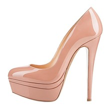 Stiletto Pointed Toe Platform Woman Pumps High Heel Dress Shoes