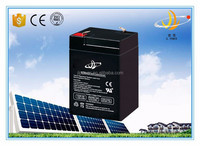 6 volt battery solar backup GEL battery 6v 4.5ah battery manufacturer