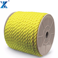 High quality floating on water 3 Strand used mooring rope marine polyprorylene ropes