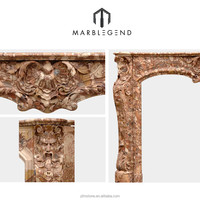 modern marble fireplace designs