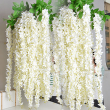 factory direct sale cheap high quality artificial Wisteria wedding decoration flowers