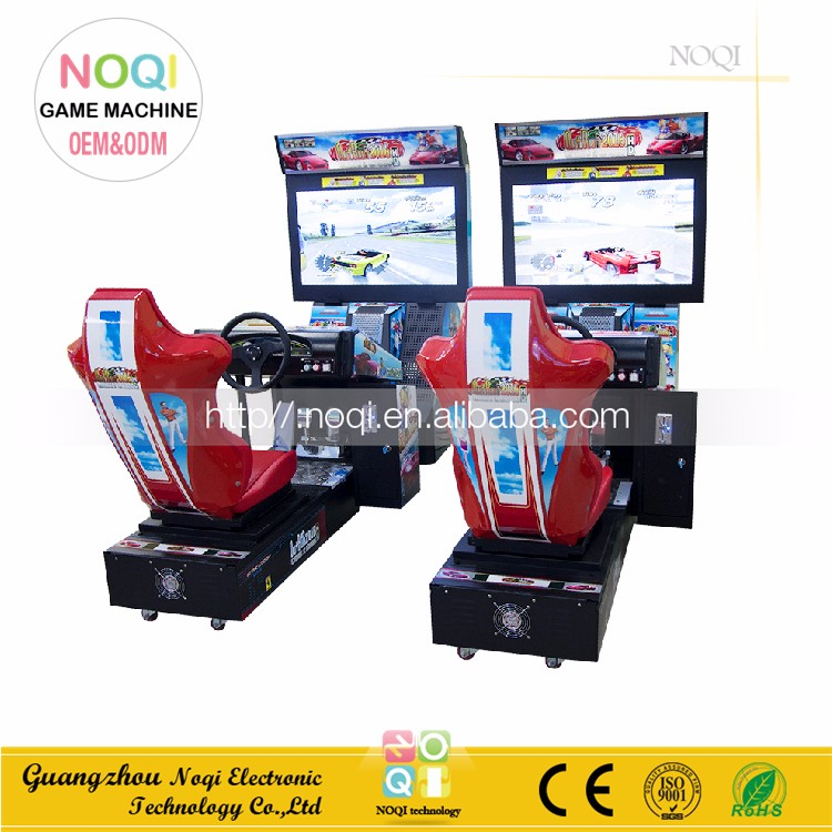 NQR-C01 indoor car racing in coin operated free download 3d car racing game machine for sale