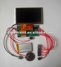 2012 Newest 2.4/2.8/3.5/4.3/7 inch lcd display module