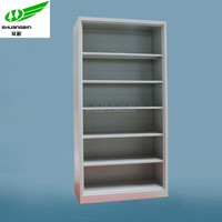Customized design book storage metal library cupboard