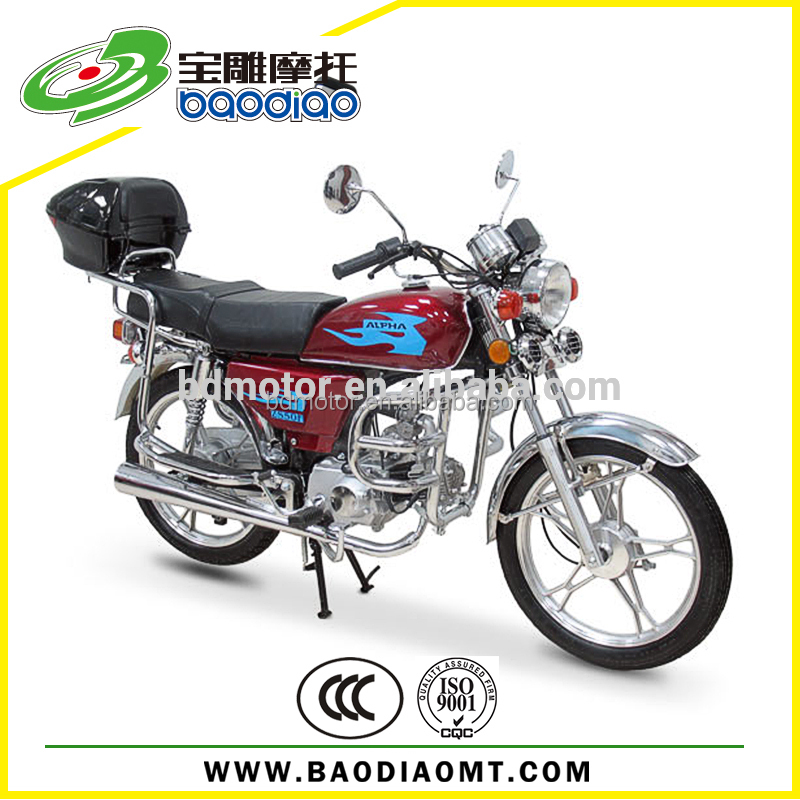 Popular Moped New Cheap Motorcycle 110cc Engine Motorcycle Wholesale Baodiao Manufacture Supply Directly