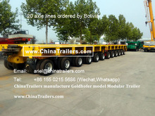 ChinaTrailers Manufactures Heavy Lift Transporter with Good Quality Goldhofer THP/SL Modular Trailer