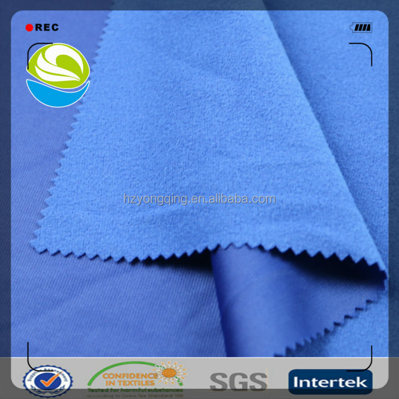 2015 hot sale high quality types of jacket fabric material