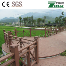 Exterior Wood Plastic Composite fence,garden fence materials