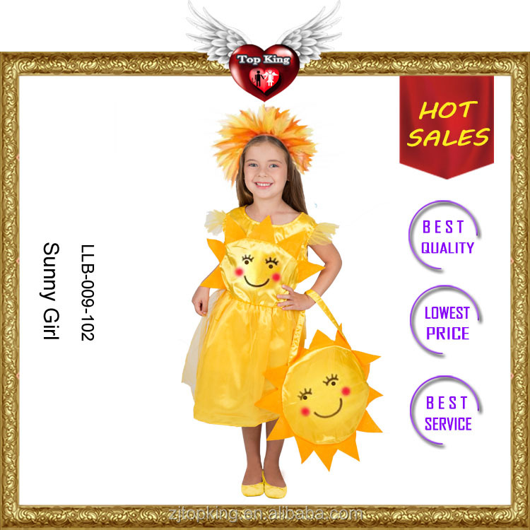 Professional Supplier Carnival Sunny Girl Kids Costumes for Baby