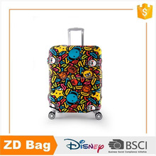 Best selling fashion cheap full printed dustproof travel luggage cover
